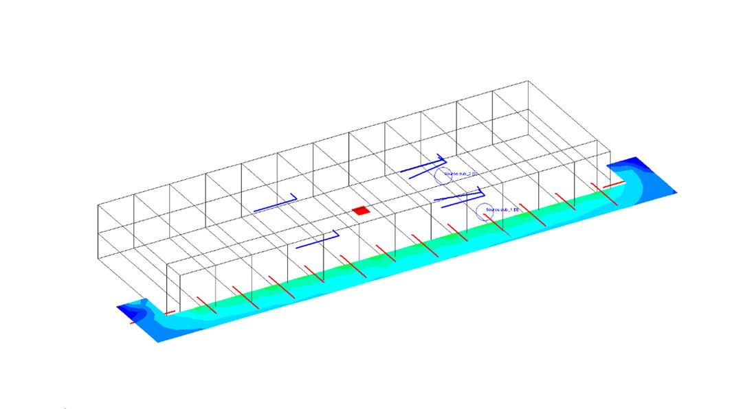 Ingeniería Acústica y Audiovisual Barcelona. Modelo. CC Joan Oliver. Enginyeria Acústica i Audiovisual