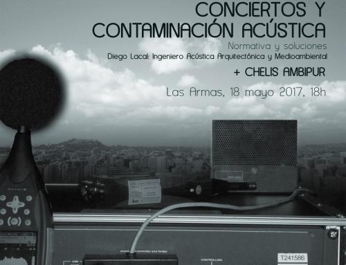 Conciertos y contaminación acústica: Normativa y soluciones