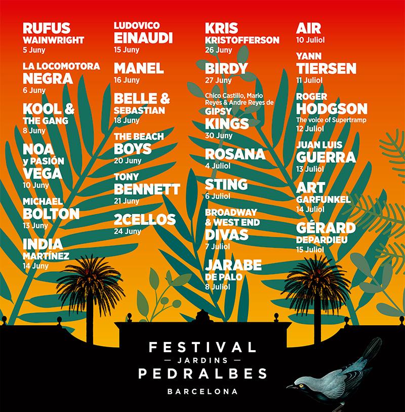 control impacto acustico festival Pedralbes 2017