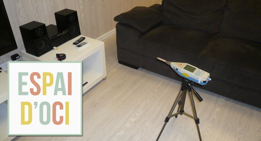 Ingeniería Acústica y Audiovisual Barcelona. Modelo. Espai d´oci. Enginyeria Acústica i Audiovisual