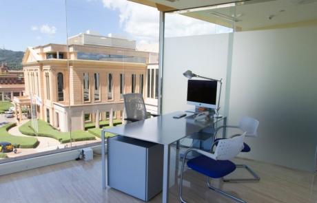 Ingeniería Acústica y Audiovisual Barcelona. Modelo. Instituto Maxilofacial Teknon. Enginyeria Acústica i Audiovisual